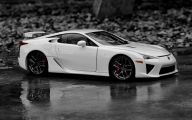 Black And White Exotic Cars  9 Desktop Wallpaper