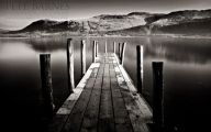 Black And White Landscape Photography 11 Hd Wallpaper