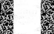 Black And White Wallpaper Border 4 Wide Wallpaper