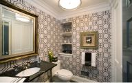 Black And White Wallpaper For Bathroom 25 Wide Wallpaper