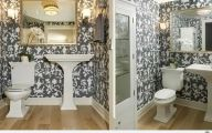Black And White Wallpaper For Bathroom 32 Cool Hd Wallpaper