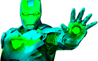 Black And Yellow Iron Man Suit  24 Desktop Background