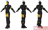 Black And Yellow Iron Man Suit  28 Background