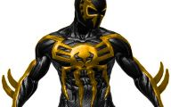 Black And Yellow Iron Man Suit  8 Widescreen Wallpaper
