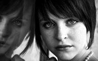 Black White Photography Woman 14 Widescreen Wallpaper