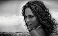 Black White Photography Woman 4 Wide Wallpaper