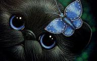Blue And Black Butterfly  14 Desktop Wallpaper