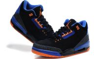 Blue And Black Jordans  10 Wide Wallpaper