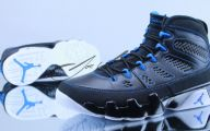 Blue And Black Jordans  21 High Resolution Wallpaper