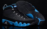 Blue And Black Jordans  29 Widescreen Wallpaper