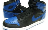 Blue And Black Jordans  31 Hd Wallpaper