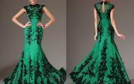 Green And Black Dress  7 Widescreen Wallpaper
