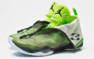 Green And Black Jordans  19 High Resolution Wallpaper