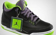 Green And Black Jordans  7 High Resolution Wallpaper