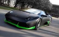 Green And Black Lamborghini  19 Cool Hd Wallpaper