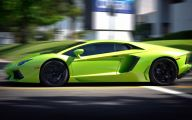 Green And Black Lamborghini  29 Hd Wallpaper