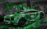 Green And Black Lamborghini  3 Cool Wallpaper