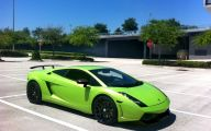 Green And Black Lamborghini  34 Background