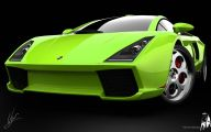 Green And Black Lamborghini  35 Hd Wallpaper