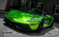 Green And Black Lamborghini  4 Cool Wallpaper
