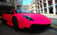 Hot Pink And Black Cars  1 Background Wallpaper