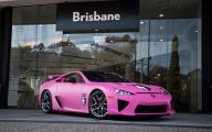 Pink And Black Batman Car  11 Desktop Wallpaper