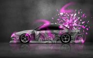 Pink And Black Batman Car  3 Background
