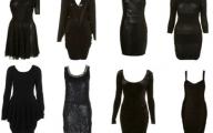 Plain Black Dresses  24 Hd Wallpaper