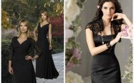 Plain Black Dresses  3 Wide Wallpaper
