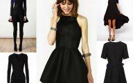 Plain Black Dresses  7 Background Wallpaper