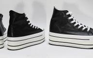 Plain Black Sneakers  27 Widescreen Wallpaper