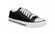 Plain Black Sneakers  36 Free Wallpaper