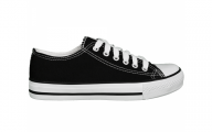 Plain Black Sneakers  40 Widescreen Wallpaper