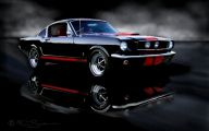 Red And Black Mustang Cars  1 Free Wallpaper
