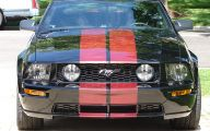 Red And Black Mustang Cars  18 Hd Wallpaper