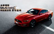 Red And Black Mustang Cars  19 Wide Wallpaper