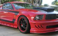 Red And Black Mustang Cars  24 Background