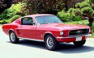 Red And Black Mustang Cars  27 Desktop Wallpaper