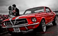 Red And Black Mustang Cars  28 Wide Wallpaper