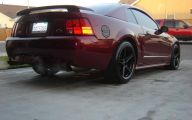 Red And Black Mustang Cars  29 Hd Wallpaper