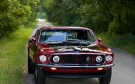 Red And Black Mustang Cars  31 Desktop Wallpaper