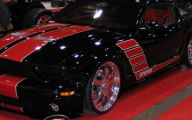 Red And Black Mustang Cars  36 High Resolution Wallpaper