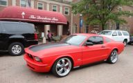Red And Black Mustang Cars  40 Cool Hd Wallpaper