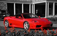 Red And Black Race Cars  5 Widescreen Wallpaper