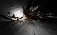 Black Abstract Background Wallpaper  3 Free Wallpaper