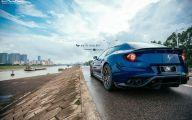 Black And Blue Ferrari 14 Hd Wallpaper
