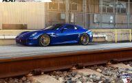 Black And Blue Ferrari 17 Cool Wallpaper