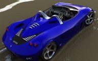 Black And Blue Ferrari 20 Hd Wallpaper