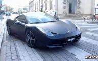 Black And Blue Ferrari 21 Hd Wallpaper