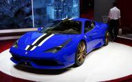 Black And Blue Ferrari 35 Cool Hd Wallpaper